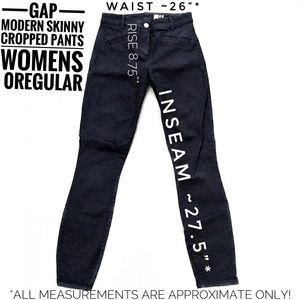 ❇️GAP Modern Stretch Skinny Crop Jeans